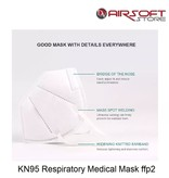 KN95 Respiratory Medical Mask ffp2 (set of 10 pcs)