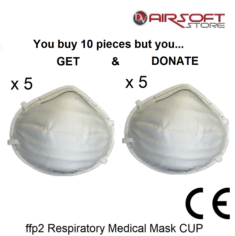 ffp2 Respiratory Medical Mask CUP (set of 10 pcs)