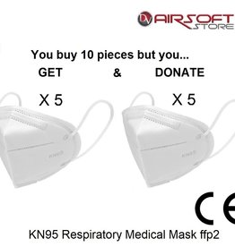 KN95 Respiratory Medical Mask ffp2 (set of 10 pcs)