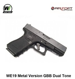 WE (Wei Tech) WE19 Metal Version GBB Dual Tone