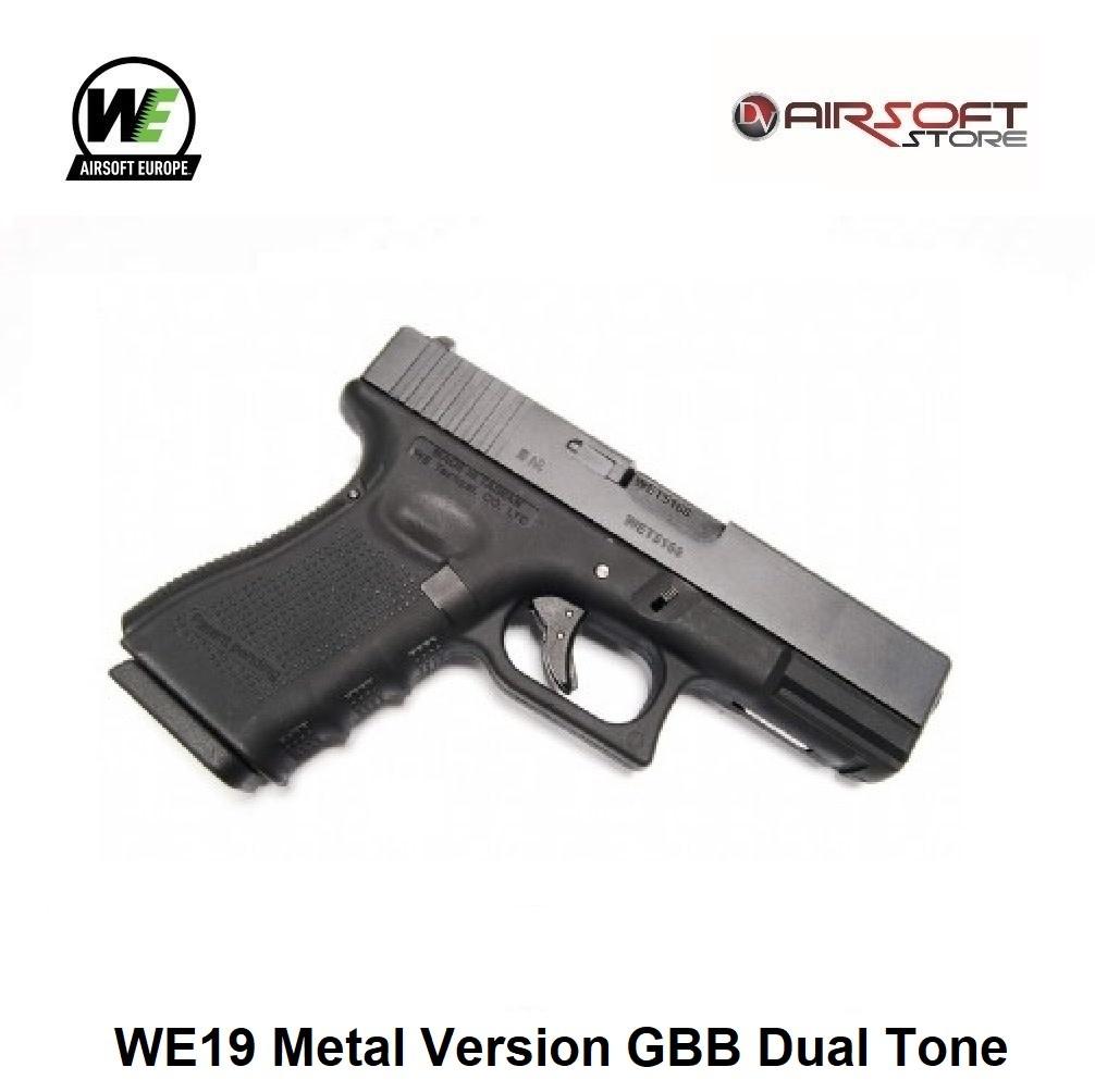 WE (Wei Tech) WE19 Metal Version GBB Dual Tone