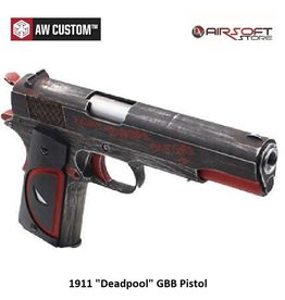 "Armorer Works 1911 GBB-Pistole ""Deadpool"""