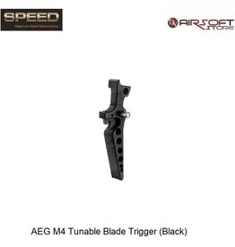 Speed Airsoft AEG M4 Tunable Blade Trigger (Black)