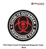 PVC Patch Covid-19 Outbreak Response Team (Red)