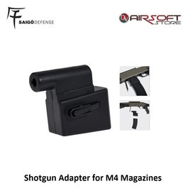 Saigo Defense Shotgun Adapter for M4 Magazines