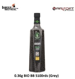 Lancer Tactical 0.36g BIO BB 5100rds (Grey)
