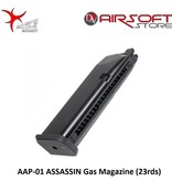Action Army AAP-01 ASSASSIN Gas Magazine (23rds)