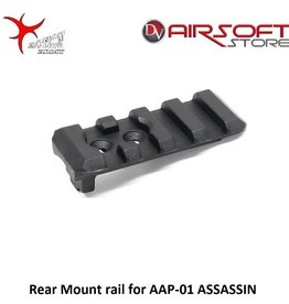 Action Army Rear Mount rail for AAP-01 ASSASSIN