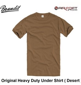Brandit Original Heavy Duty Under Shirt ( Desert )