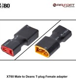 BO XT60 Male to Deans T-plug Female adapter