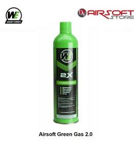 WE (Wei Tech) Airsoft Green Gas 2.0