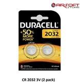 DURACELL CR 2032 3V (2 pack)