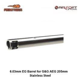 Prometheus 6.03mm EG Barrel for G&G AEG 205mm