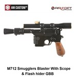 Armorer Works M712 Smugglers Blaster With Scope & Flash hider GBB