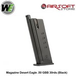WE (Wei Tech) Magazine Desert Eagle .50 GBB 30rds (Black)