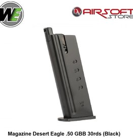 WE (Wei Tech) Magazine Desert Eagle .50 GBB 30rds (Black)