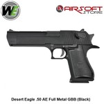 WE (Wei Tech) Desert Eagle .50 AE Full Metal GBB (Black)