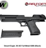 WE (Wei Tech) Desert Eagle .50 AE Full Metal GBB (Black)