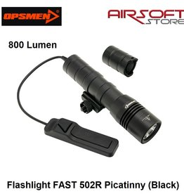 OPSMEN Flashlight FAST 502R Picatinny (Black)