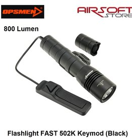 OPSMEN Flashlight FAST 502K Keymod (Black)