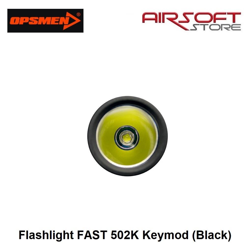 OPSMEN Flashlight FAST 502K Keymod (Black)