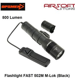 OPSMEN Flashlight FAST 502M M-Lok (Black)