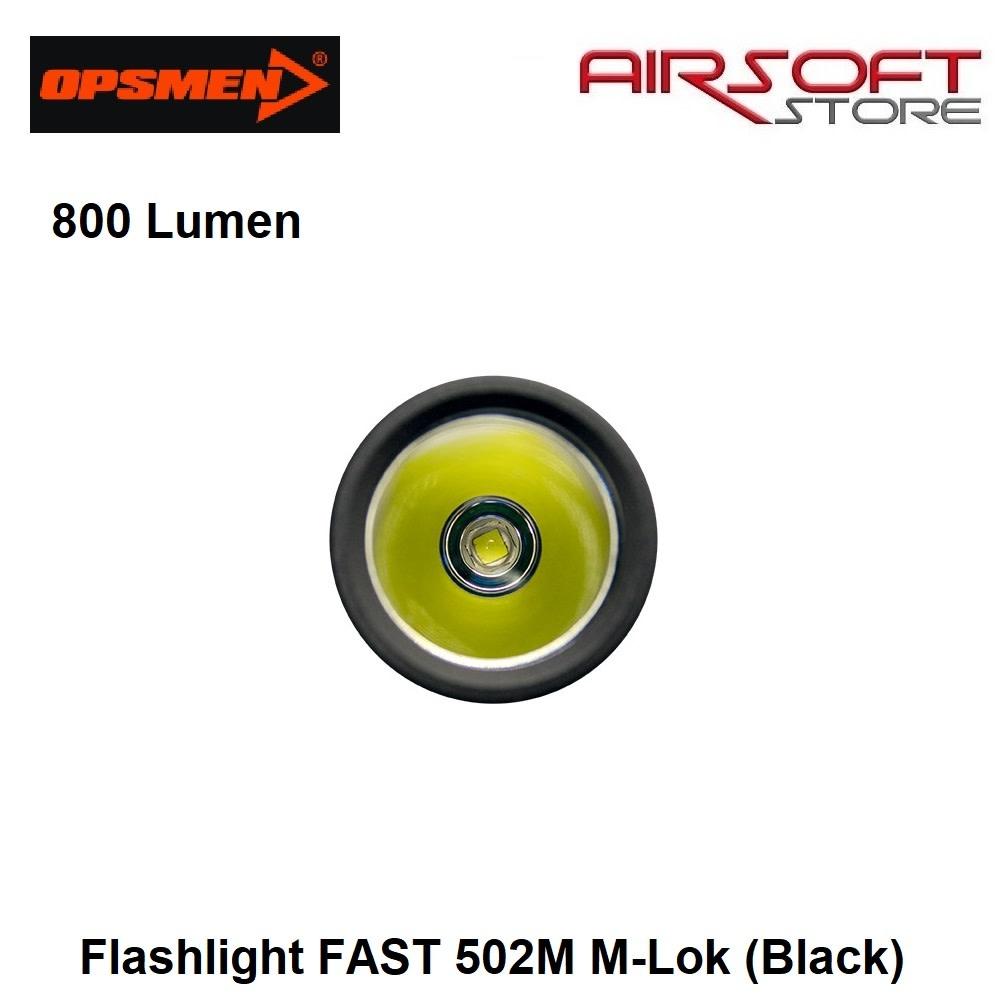 OPSMEN Flashlight FAST 502M M-Lok (Black)