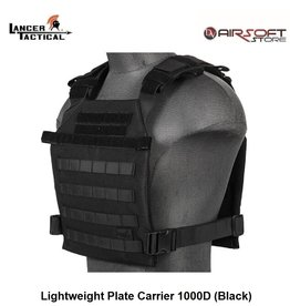 Lancer Tactical Lightweight Plate Carrier 1000D (Black)