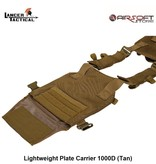 Lancer Tactical Lightweight Plate Carrier 1000D (Tan)