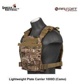 Lancer Tactical Lightweight Plate Carrier 1000D (Camo)