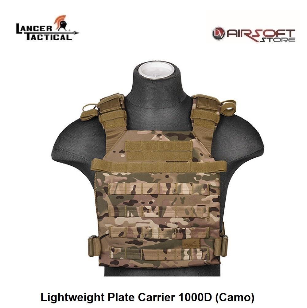 Lancer Tactical Lightweight Plate Carrier 1000D (Camo)