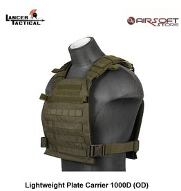 Lancer Tactical Lightweight Plate Carrier 1000D (OD)