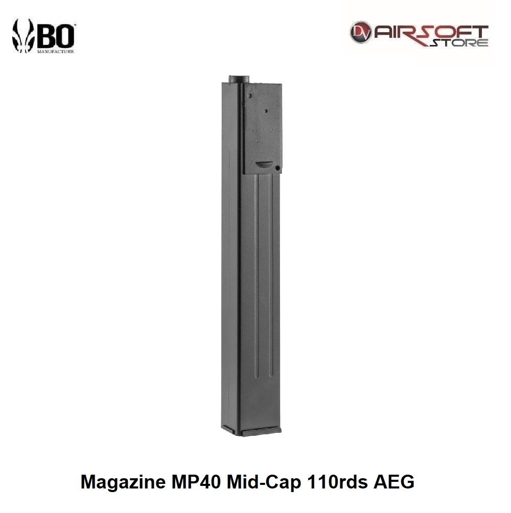BO Magazine MP40 Mid-Cap 110rds AEG