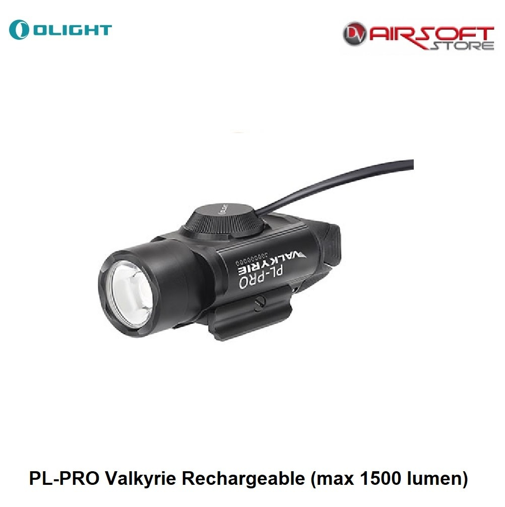 Olight PL-PRO Valkyrie Rechargeable (max 1500 lumen)