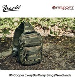 Brandit US Cooper EveryDayCarry Sling (Woodland)