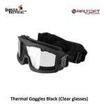 Lancer Tactical Thermal Goggles Black (Clear glasses)