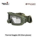 Lancer Tactical Thermal Goggles OD (Clear glasses)