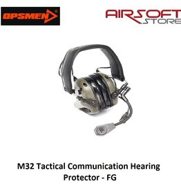 OPSMEN M32 Tactical Communication Hearing Protector - FG