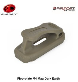 Element Floorplate M4 Mag Dark Earth