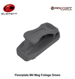 Element Floorplate M4 Mag Foliage Green