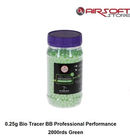 Nimrod 0.25g Bio Tracer BB Professional Performance 2000rds Green