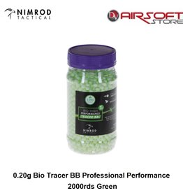 Nimrod 0.20g Bio Tracer BB Professional Performance 2000rds Green
