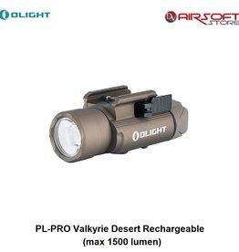 Olight PL-PRO Valkyrie Desert Rechargeable (max 1500 lumen)