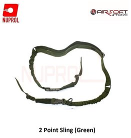 NUPROL 2 Point Sling (Green)