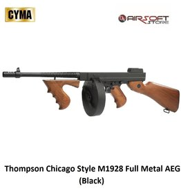 CYMA Thompson Chicago Style M1928 Full Metal AEG (Black)