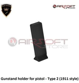 Royal Armory Gunstand holder for pistol - Type 2 (1911 style)
