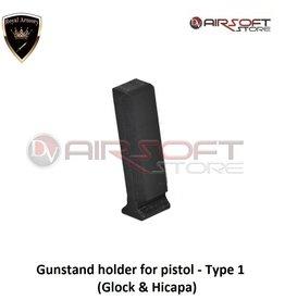 Royal Armory Gunstand holder for pistol - Type 1 (Glock & Hicapa)