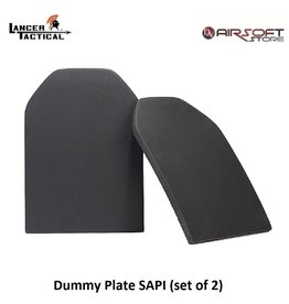 Lancer Tactical Dummy Plate SAPI (set of 2)