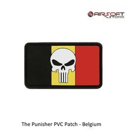 The Punisher PVC Patch - Belgium