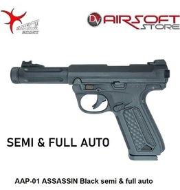 Action Army AAP-01 ASSASSIN Black semi & full auto
